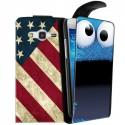 Housse verticale avec photo pour Samsung Galaxy Core 4G
