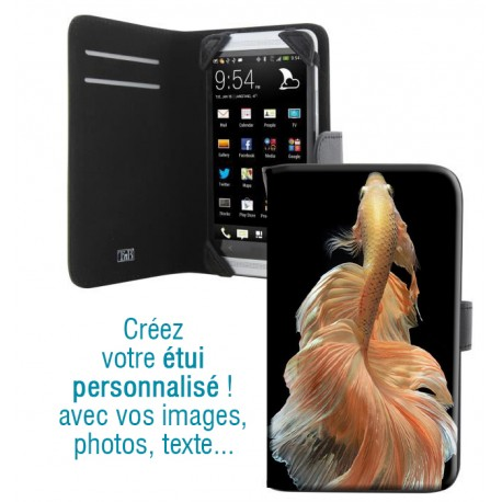 Housse portefeuille avec photo pour Samsung Galaxy A5