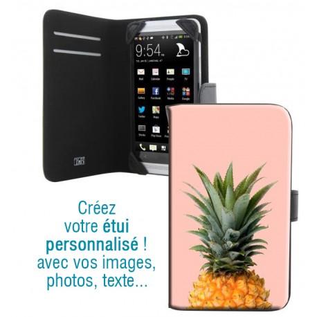 Housse portefeuille avec photo pour Samsung Galaxy Grand Lite