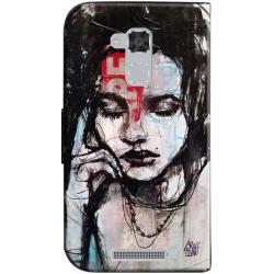 Housse portefeuille Asus Zenfone 3 Max personnalisable