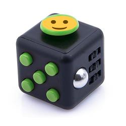 Hand cube personnalisable noir