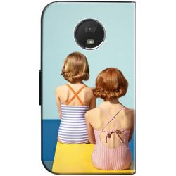Housse portefeuille Motorola Moto E4 Plus personnalisée