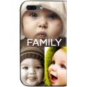 Housse portefeuille iPhone 8 personnalisable Noir