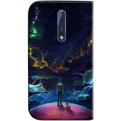 Housse portefeuille Nokia 8 personnalisable