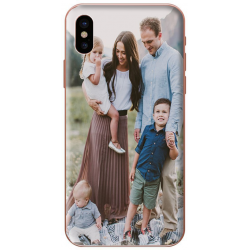 Silicone iPhone X personnalisable