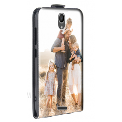 Housse verticale Wiko Harry personnalisable