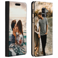 Housse portefeuille Samsung Galaxy A+ 2018 personnalisable