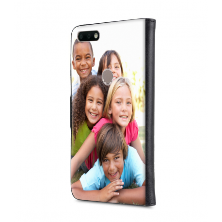 Housse portefeuille Huawei Honor 7C personnalisable