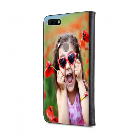 Housse portefeuille Huawei Y7 2018 personnalisable