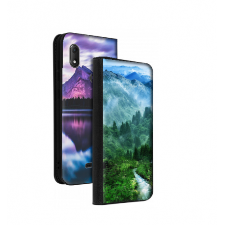 Housse portefeuille Wiko View Max personnalisable