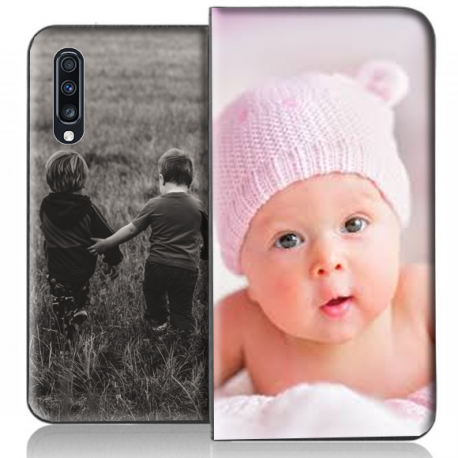 Housse portefeuille Samsung Galaxy A70 personnalisable