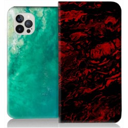 Housse portefeuille iPhone 12 Max personnalisable
