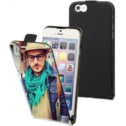 Etui housse rabat vertical avec photo pour iPhone 6