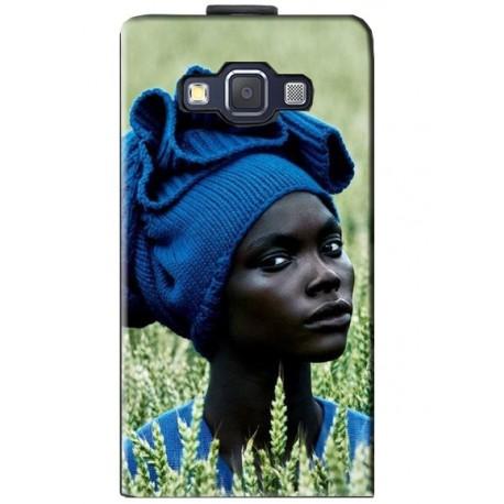 Housse verticale avec photo pour Samsung Galaxy E5