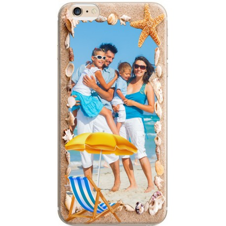Coque avec photo iPhone 6 / iPhone 6S Décor Plage