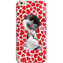 Coque personnalisable avec photo iPhone 6 / iPhone 6S Décor Serrure Coeur