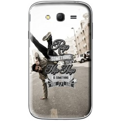 Coque avec photo slogan Rap & Hip Hop pour Samsung Galaxy Grand Plus
