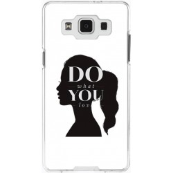 Coque photomontage silhouette de femme Samsung Galaxy A5 personnalisable