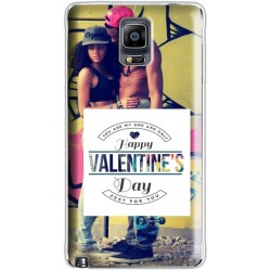 Coque Saint Valentin avec photo Samsung Galaxy Note 4