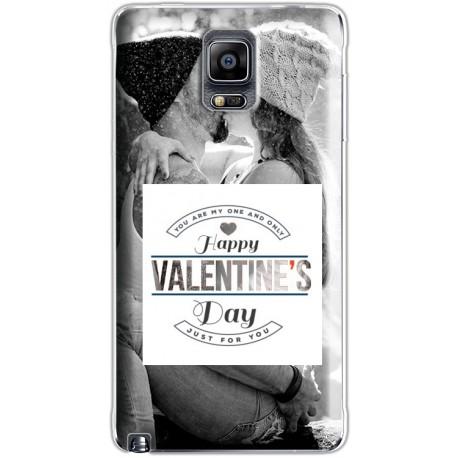Coque Saint Valentin avec photo Samsung Galaxy Note 4