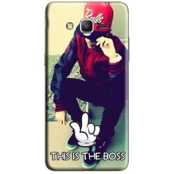"Coque ""This is the BOSS"" Samsung Galaxy Grand Prime à personnaliser"