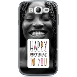 Coque Happy Birthday personnalisable Samsung Galaxy Grand Plus