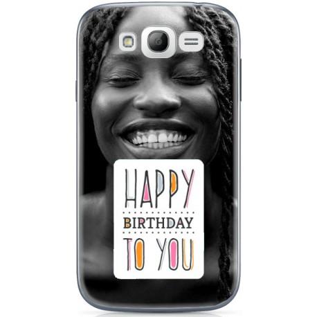 Coque Happy Birthday personnalisable Samsung Galaxy Grand Plus